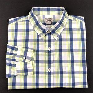 J.Crew Plaid Button Down Casual Shirt XL